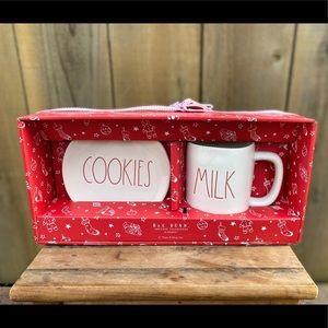 Rae Dunn Cookies & Milk set
